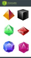 DnD Dice icon Xnix version by iconcubic