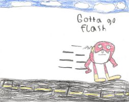 Gotta go flash by nellucnhoj