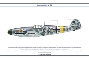Bf 109 F-2 JG51 1 by WS-Clave