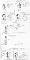 Loki and the Loon fancomic by LittleIggyDog
