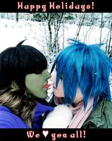 GoRiLLaZ Cosplay Snow-Kiss by Murdoc-lein