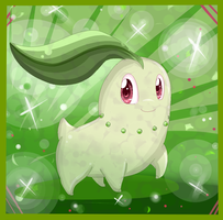 Pokemon Challenge: 03 Chikorita by KittenthePsycho