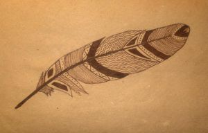 Brown Feather by RedCloudlet