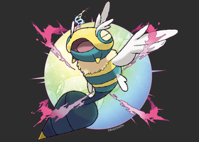 Mega Dunsparce by Dragonith