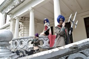 Mukuro, Chrome, Lal Mirch by maya-misare