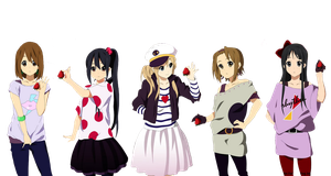 K-ON! PNG 3 by HoKi97