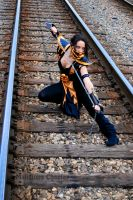 Female Scorpion Cosplay -Mortal Kombat by Malicious-Cosplay