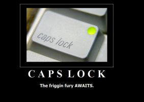 Caps Lock by deazralei