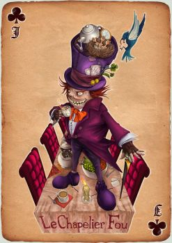 Mad hatter by herobaka