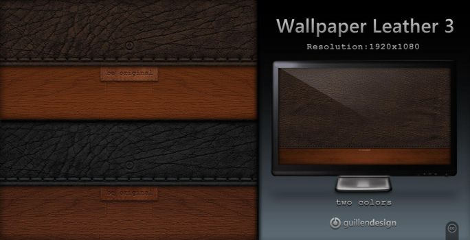 Wallpaper Leather 3 by GuillenDesign