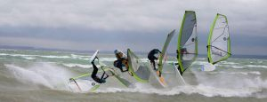 Windsurf jump sequence by blindrider