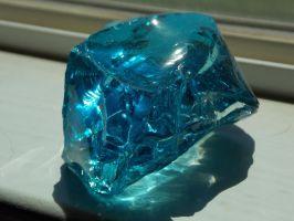 Blue Volcanic Glass 1 by ElfOwl245
