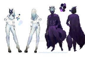 Kindred cosplay design by Emmathedragon