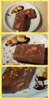 Nutella and banana popsicle by trollwaffle