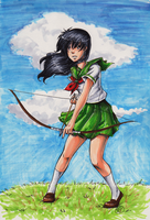 Kagome: colored by TriaElf9