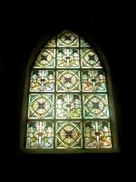 Window Stock 7 stained glass by Finsternis-stock