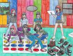 Girls Game Day by Death-Ark