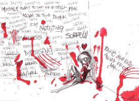 suicide is not the answer by xAngelsxCryxBloodx
