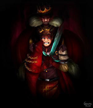 The Mad King by Choopasaurus