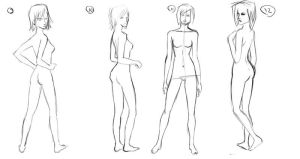 Pose Studies 3 by PsychoDoodle