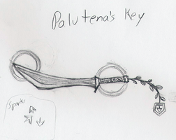 Palutena's Key (Kid Icarus keyblade) by HaroldPotter
