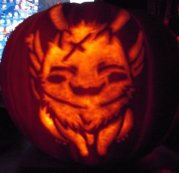 Mikage Pumpkin by Evilyaoifangirl