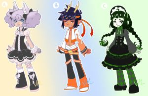Chinese Zodiac Adoptables Batch #2(CLOSE)(AUCTION) by lifeforce10