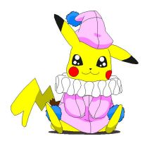 Rina's Piachu looks cute as a button by HamtaroDramaClass