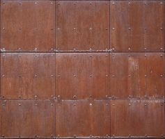 Metal Siding Rusty by Limited-Vision-Stock
