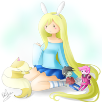 Pretty Fionna by Nasuki100