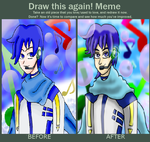 Draw This Again with Kaito by OneLoveDrew