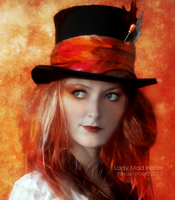 Lady Mad Hatter - Detail by ROSASINMAS