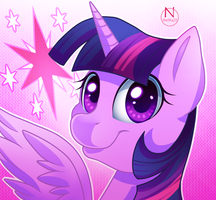 Twilight Sparkle by N-SteiSha25