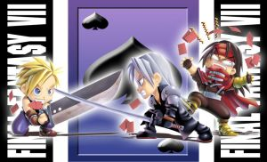 Trio_FFVII_playing_card by Agustinus