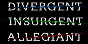 Divergent Trilogy - All movie logos by me.:D by RumpleTR