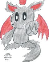 Gift: Claw the Wolf Chao by glaciethewolf