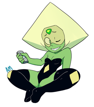Peridot Pin up by AngeliccMadness