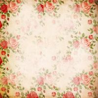 Flower Scrapbook paper by miabumbag