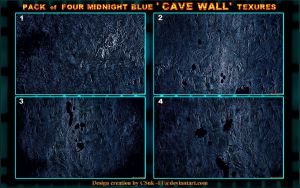 RS: MIDNIGHT BLUE CAVE WALLS by CSuk-1T