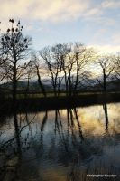 River Wharfe sunrise one by squareprismish