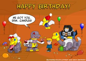 Transformers - Happy Candle Day by deadcal