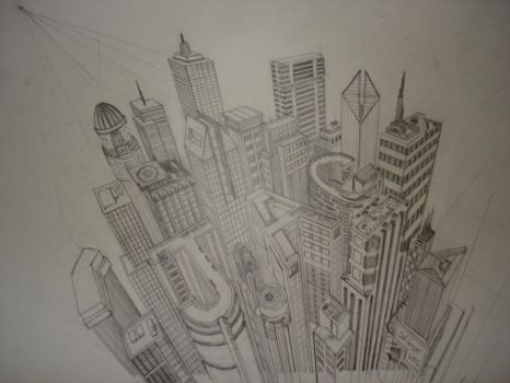 Cityscape by geph