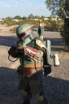 Olly as Boba Fett by Peterkat