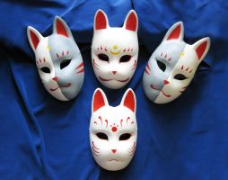Fox masks by Mishutka