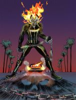 All-New Ghost Rider color by SooDLee
