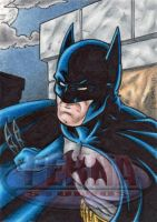 Batman Sketch Card by tonyperna