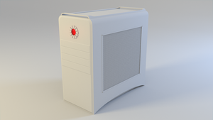 Computer case design by Terraben