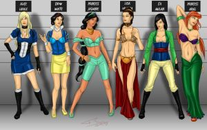 Usual Disney Princesses by Lord-FSan