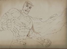 superman sketch 2 by ALmighty1080
