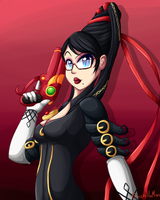 Bayonetta for WonderBun by FreshillaMan
